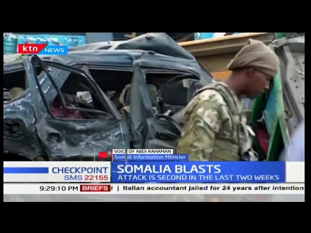 Somali Blasts: Two car bomb kill 7 in Mogadishu