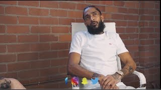 Nipsey Hussle Speaks about his Studio being Raided by Police