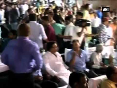 Ruckus at Kanhaiya Kumar's programme in Patna