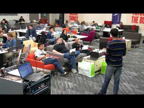 Microsoft Facebook Hackathon - Hack Presentations