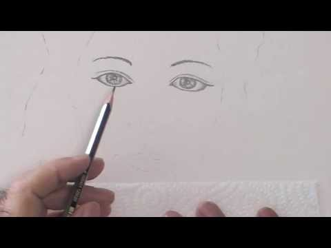 Sequence sur comment dessiner un visage facilement youtube - Comment dessiner une sorciere facilement ...
