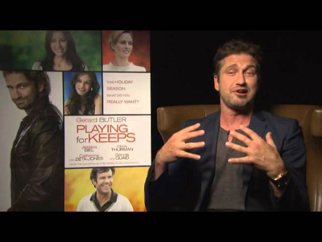 Gerard Butler on Tribute.ca for Playing For Keeps