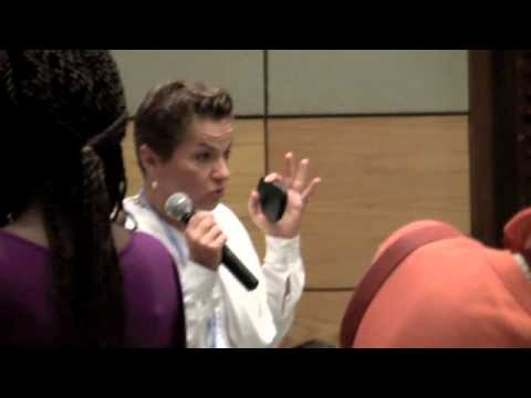 Christiana Figueres at COY8