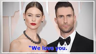 °Adam Levine Holds Daughter Gio as Behati Prinsloo Shares First Pic of the Baby's Face | Entertai...