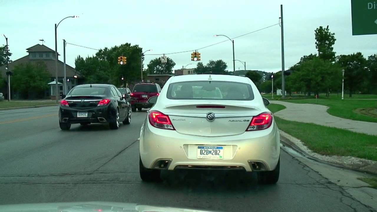2012 Buick Regal Gs Turbo 6 Speed Manual On The Road