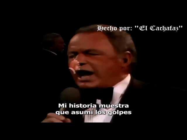 Frank Sinatra quotMy Wayquot   Subtitulado EspaГol