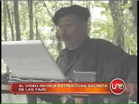 Video revela estructura secreta de las FARC.