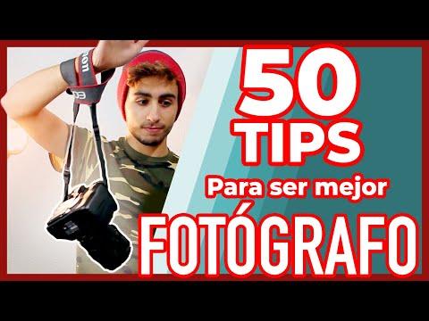 ¡50 Tips Sobre Fotografía!