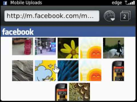 Facebook app on BlackBerry Curve 9320/Curve 9220