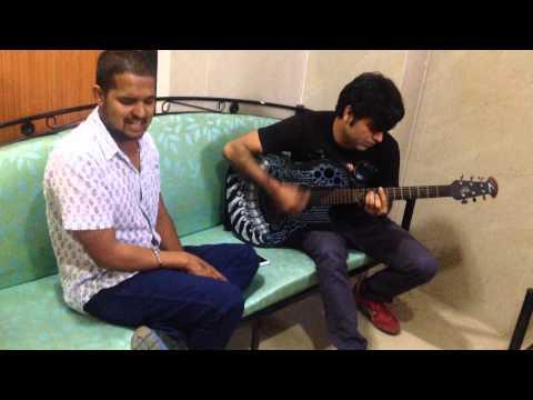 Mera peer jaane meri peerh Manoj Sabharwal jamming with Dinesh...