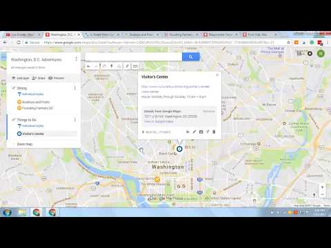 How to use Google My Maps to plan a trip