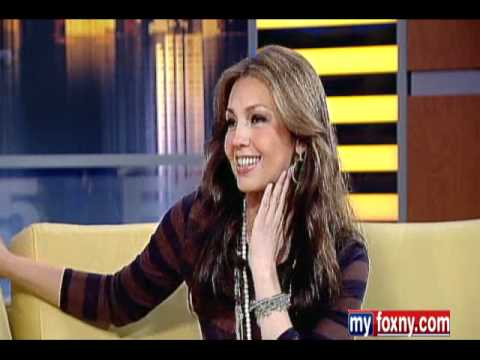 Entrevista de Thalia en 