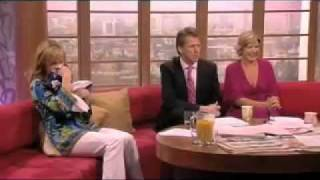Connie Talbot and Amanda Holden on GMTV