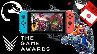 Switch Gets 5 New Games, Plus Smash DLC, Announced at The Game Awards