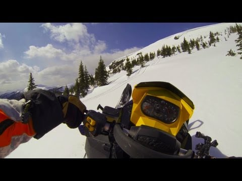 GoPro HD Hero 3 - Snowmobile Freestyle