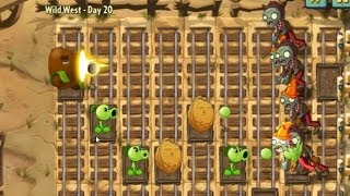 Plants vs. Zombies 2 Wild West - Day 20 [PC]