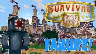 Minecraft - Squiddy Sundays - Hunger Games Failure!