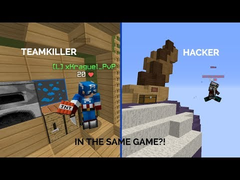 Sixty Second Shorts #2: Teamkiller and Fly Hacker in the SAME GAME?!