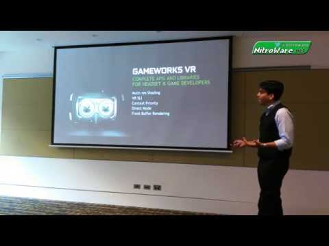 Gameworks VR explained - NVIDIA Mobile G-SYNC & Gameworks VR Launch