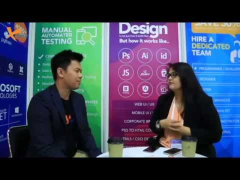 Poonam Lalka Interview at Communic Asia Singapore 2015