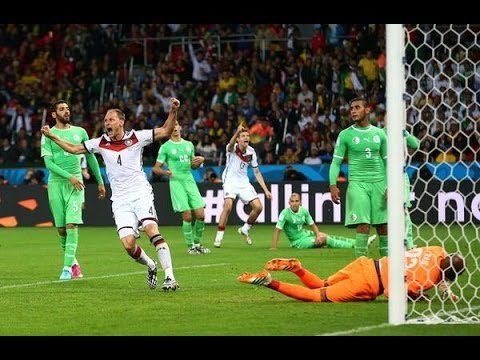 Germany vs. Algeria (2-1) World Cup 2014 Full Match Goals & Highlights 30/06/14 [FIFA 14 SIMULATION]