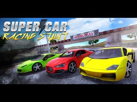 Super Car Racing Stunt Hero: Extreme Rival Fever