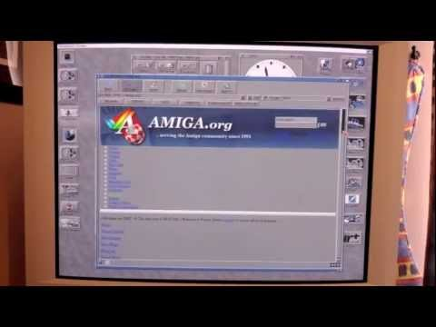 My Amiga 3000 desktop still in use today and why