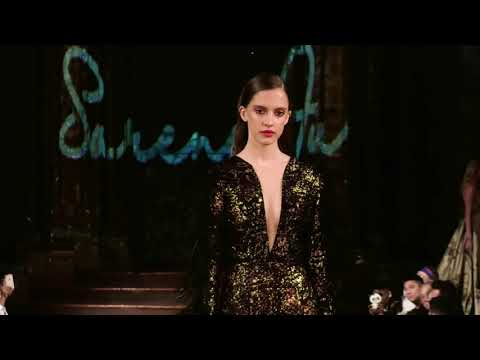 Designer Sarene Fu Runway Show New York Fashion Week 2018 Powered by Art Hearts Fashion NYFW SS19