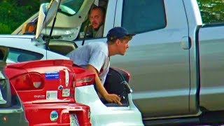 Sneaking Into Peoples Cars Prank Part 2