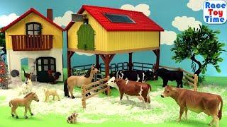 Schleich Farm World Advent Calendar - Learn Farm Animal Names