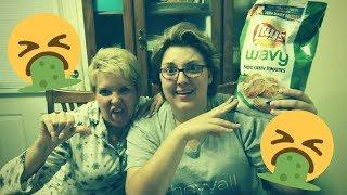 Roasting Oreo and Lays // Trying Weird Snacks // Keepin' it Reel // Joanie & Jenni B.