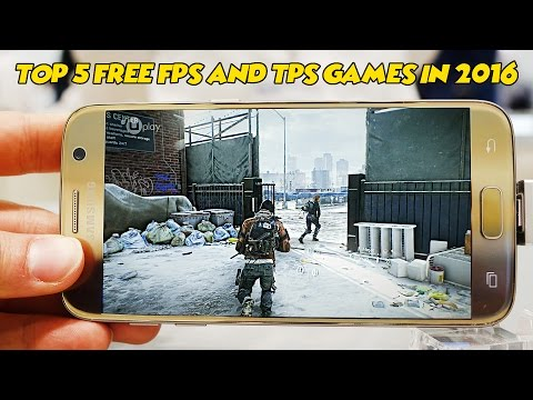 Top 5 Best New Free FPS/TPS Games for Android/iOS in 2016/2017 || Gamerzed Tv