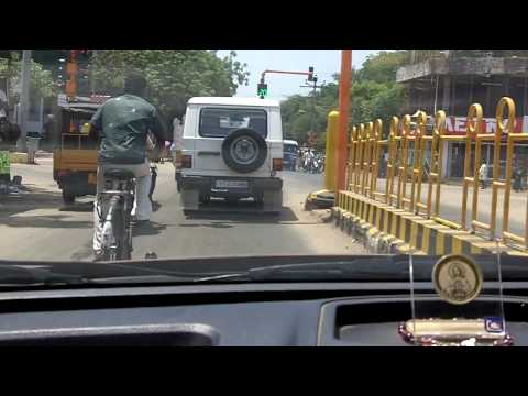 Driving in Tuticorin part 1
