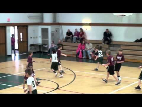 Westgate Christian Academy 2012 4th Grade Basketball Highlight Film