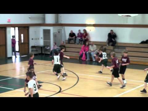 Westgate Christian Academy 2012 4th Grade Basketball Highlight Film - 04/07/2012
