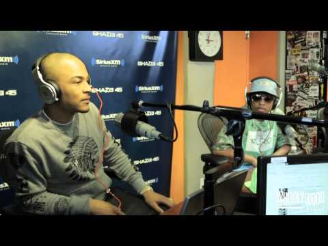 TI Pops Up At DeJ Loaf's Interview w/ DJ Whoo Kid