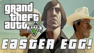 Grand Theft Auto 5 | No Country For Old Men Easter Egg (GTA V)