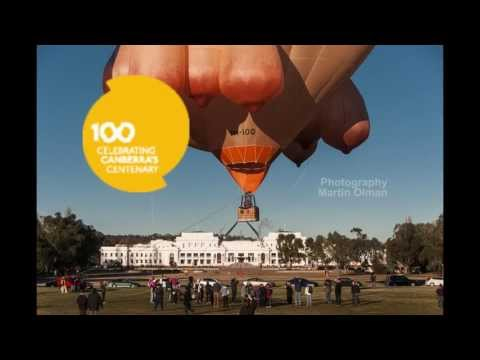 Skywhale - Centenary balloon rides (Time-Lapse)