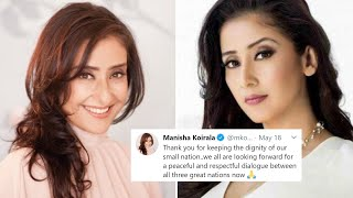 Manisha Koirala gets SLAMMED for supporting the new map of Nepal which claimed India's territories