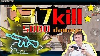 Miramar Solo Squad 37 Kills Crazy 5000 Damage! ChinesePlayer PubgMobile GameForPeace