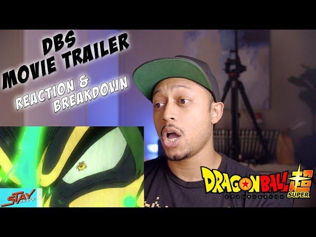 GOKU VS YAMOSHI? DRAGON BALL SUPER MOVIE TRAILER 2018 [HD] REACTION AND BREAKDOWN!