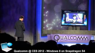 Qualcomm keynote @ CES 2012 feat. Jabbawockeez