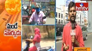 High Temperatures Hits Telangana andamp; AP | hmtv