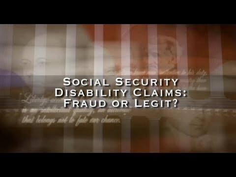 Social Security Disability Claims: Fraud or Legit