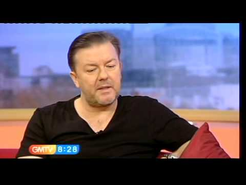 Ricky Gervais talks about the Golden Globes (GMTV, 12.01.10) - InterviewsOfInterest Video