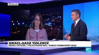 "Israel-Gaza violence: ""The rhetoric is very intense"""