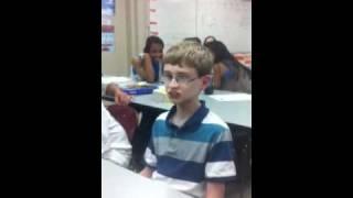 White boy drops sick beat