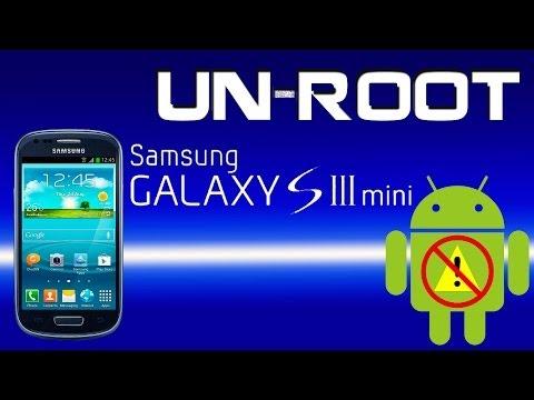 UNROOT Samsung galaxy S3 Mini (quitar root y resetear contador de flasheos)