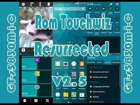 Rom touchwiz Resurrected v2.5 / Galaxy Ace Gt-s5830M-i-c