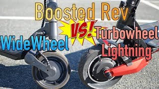 WideWheel Vs Boosted Vs Turbowheel Lightning: electric scooter review!